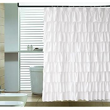 Amazon.com: Lorraine Home Fashions 08383-SC-00001 Gypsy Shower ...