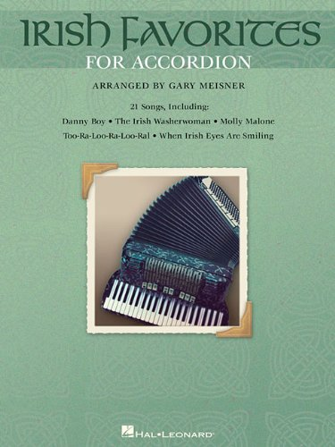 Irish Favorites for Accordion (Piano Sheet Music Irish)