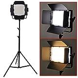Bestlight 600 LED Professional Photography Studio Video Light Panel Camera Photo Lighting U Shape Bracket