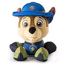 "Paw Patrol, Jungle Rescue, 8"" Plush, Chase"