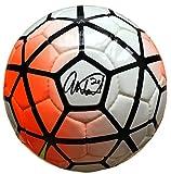 Abby Wambach Team USA Signed Authentic Full Size Orange Soccer Ball JSA