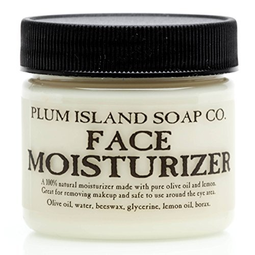Plum Island Face Moisturizer - Natural Face Lotion & Makeup Remover made in New England