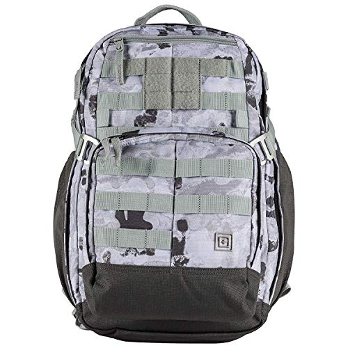 5.11 Tactical MIRA 2 in 1 Backpack, 25L with Detachable Crossbody Purse, Style 56338, Camo Destiny