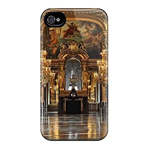 JghHLDV1211gBCpp Case Cover Protector For Iphone 4/4s Palais Garnier Gr Foyer Case