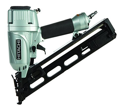 Hitachi NT65MA4 1-1/4 Inch to 2-1/2 Inch 15-Gauge Angled Finish Nailer with Air Duster ()
