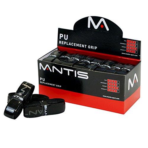 Mantis PU Replacement Grip - Box of 24 Color- Black