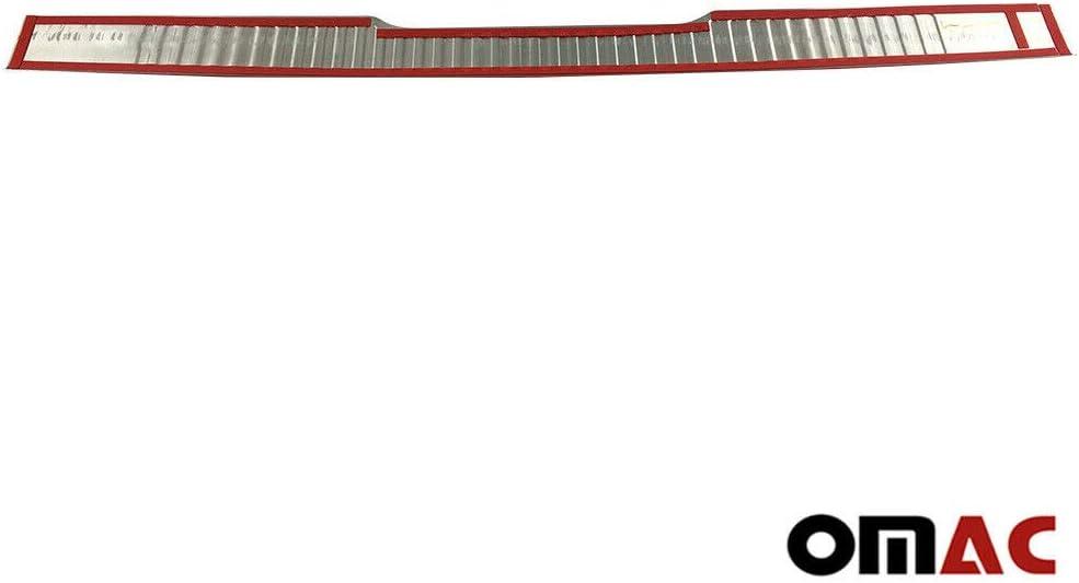 Protecci/ón para el borde del maletero de acero cromado