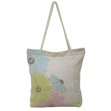 7ccab605ac29 Amazon.com: iPrint Hand Cotton and Linen Bag Shoulder Bag,Pastel ...