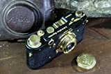 LEICA LUFTWAFFEN VINTAGE RUSSIAN 35mm GOLD CAMERA Excellent COPY FED