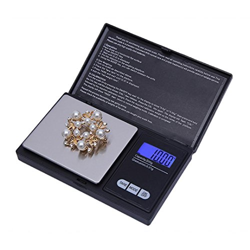 10 Lb Digital Postage Scale - Digital Scale,LtrottedJ 300g/0.01g High Precision Digital Electronic Scale, for Jewelry Reloading Kitchen