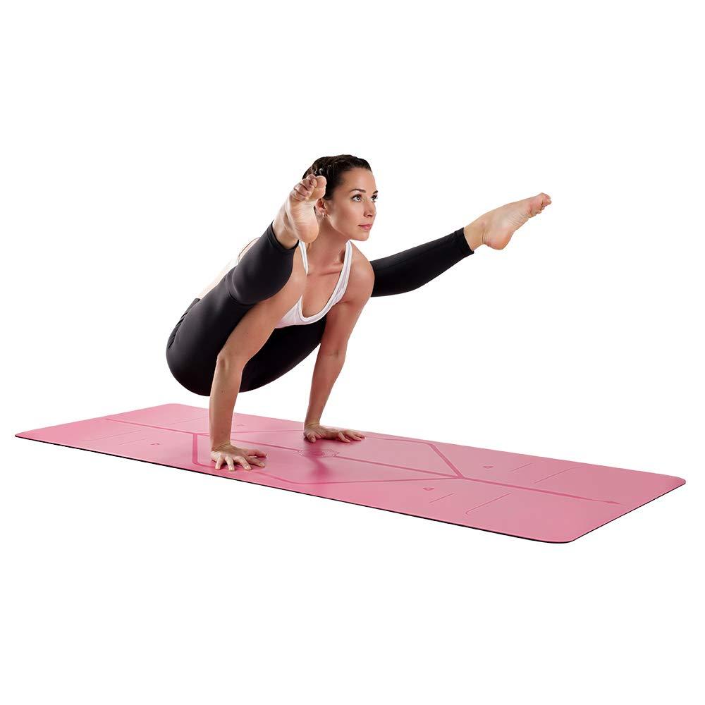 Liforme Esterilla Yoga Antideslizante - Mejor Colchoneta De Yoga del Mundo con Sistema De Alineación Original y Patentado - Yoga Mat Ecológica y ...
