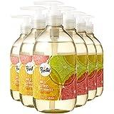 Amazon Brand - Presto! Biobased Hand Soap, Wild Citrus Scent (6 pack)