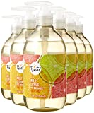 Amazon Brand - Presto! Biobased Hand Soap, Wild Citrus Scent (6 pack)