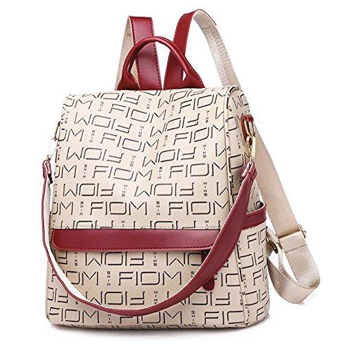 en sac main à à dos la de femmes 28 décontracté des Sac 15 sac PU souple mode cuir 30cm multifonctionnel qWXAw8gZ