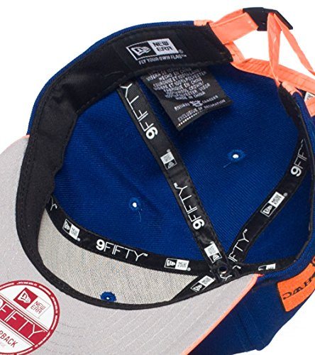 New Era New York Knicks 3M Nba Strapback Cap Royal 0
