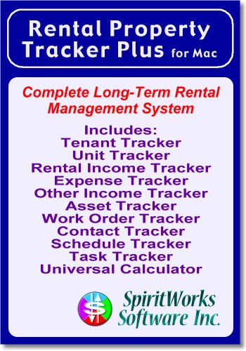 Rental Property Tracker Plus for Mac [Download] by SpiritWorks Software Inc.