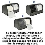 Alpine Industries Side-by-Side Double Roll Toilet