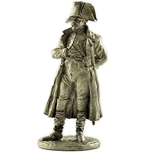France. Napoleon Bonaparte, 1805-15 years metal sculpture. Collection 54mm (scale 1/32) miniature figurine. Tin toy soldiers ()