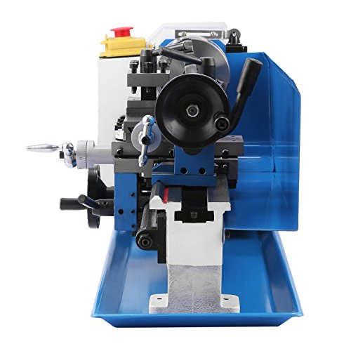 Mophorn Metal Lathe 7 x 14 Inch Precision Mini Lathe Variable Speed 2500  RPM 550W Mini Metal Lathe Micro Metal Milling Bench Top Lathe Machine