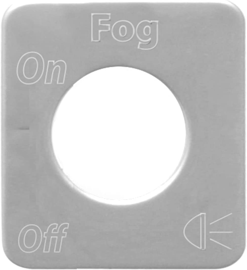 GG Grand General 68580 Stainless Steel Interior Lights Switch Plate for Kenworth