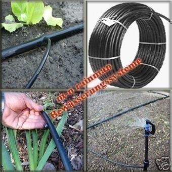 100 m PE-Rohr / Wasserschlauch 32 mm x 2,4 mm - PROFI-QUALITÄT (Solaranlage, Poolbeheizung)