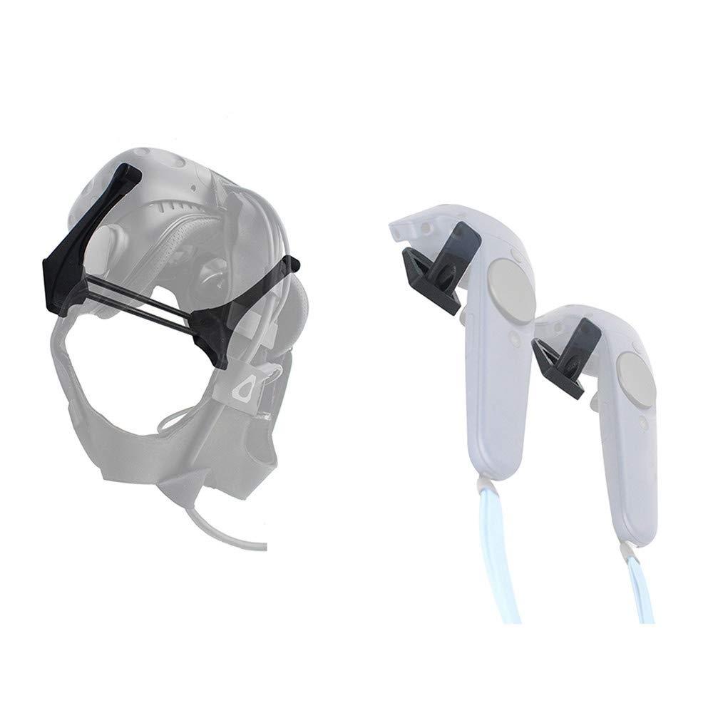 TOOGOO Wand Halterung f/ür Virtual Reality f/ür Vive oder Pro Headset und Controller Vr Zubeh?r f/ür Vive Headset