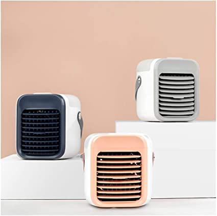 Portable USB 2000mAh battery Rechargeable Rechargeable Water-Cooled Air Conditioner Mini Personal Air Conditioning Units Blaux Wearable AC Rapid Cooling In Just 30 Seconds