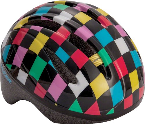 Lazer BOB Infant Helmet: Black with Multi-Color Squares, One Size by Lazer (Image #1)