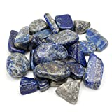 Best Garden Tools 50g Natural Blue Lapis Lazuli Crystal Specimen Mineral Rockstone Healing Aquarium Fish Tank Materials Decor Mini Stone Crafts