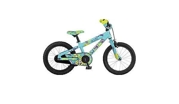Bicicleta Scott Contessa Jr 16 Cian, cian: Amazon.es: Deportes y ...