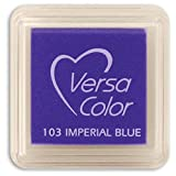 imperial cat step - Tsukineko Small-Size VersaColor Ultimate Pigment Inkpad, Imperial Blue
