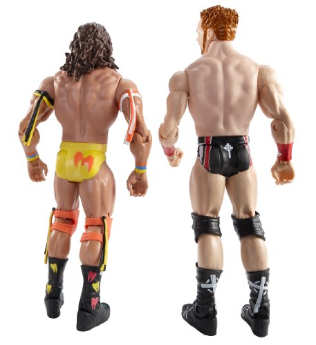 WWE WrestleMania Fantasy Match-Up Ultimate Warrior and Sheamus Action Figure, 2-Pack
