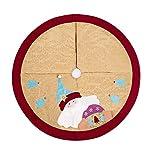 Christmas Tree Skirt,Xmas Tree Skirt Holiday Xmas Decoration