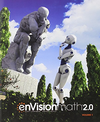 ENVISION MATH 2.0 COMMON CORE STUDENT EDITION GRADE 8 VOLUME 1 COPYRIGHT2017