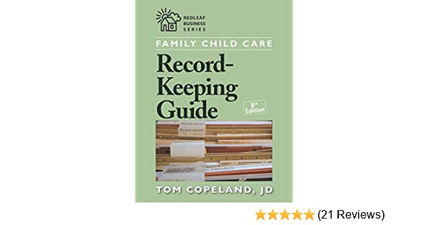 Amazon Family Child Care Record Keeping Guide Eighth Edition