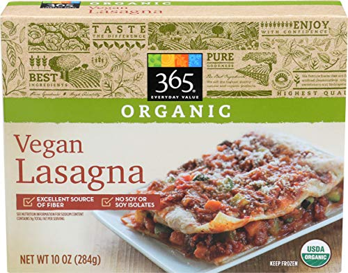 365 Everyday Value, Organic Vegan Lasagna, 10 oz, (Frozen)