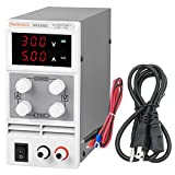 Haitronic DC 30V 5A Adjustable Switching DC Power Supply, AC 110V Input, Precise Variable DC 0~30V @ 0~5A Output, 3 Digital Display with Alligator Cable and Power Cord for Phone & Laptop Repair