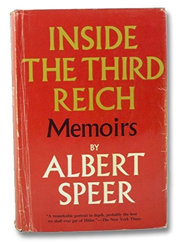 Inside The Third Reich, Albert Speer