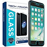 Tech Armor Ballistic Glass - Protector de pantalla transparente HD para IPhone 6 Plus (5.5 inch), 1 pieza