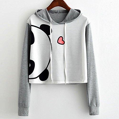 Imprim Beikoard Femme Tops Sweatshirt Fille BHnRqYRIxT