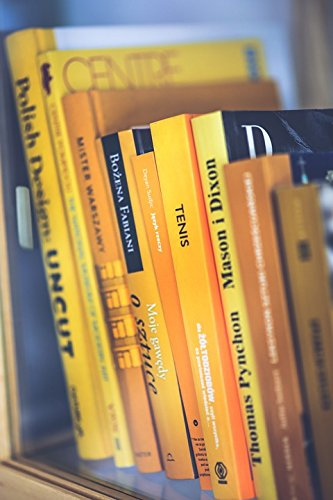 (Laminated Poster Book Worm Yellow Books Reading Book Covers Poster Print 11 x 17)
