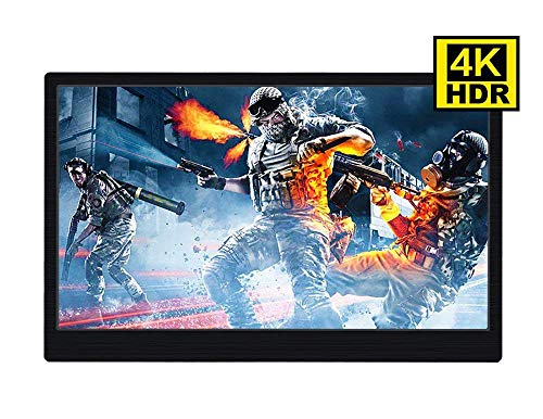 15.6 inch 4K PS4pro Xbox NS Gaming Monitor HDR Portable Screen Adobe 100% Color Gamut Type-C Monitor 60HZ 3840X2160