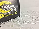 1600 Diamond Table Scatter Confetti 4 Carat/ 10mm Clear - Diamond Theme Party Supplies - Wedding Bridal Shower Party Decorations By SolarEscape