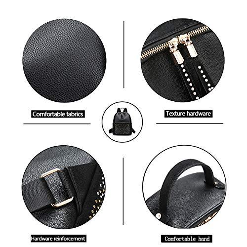 de Dos Dames Tisdaini Sport Sac Voyage Sac de de 2018 Simple Nouvelles Mode Noir à qZzzpagnw