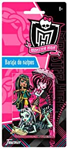 Fournier 175020 - Baraja De Naipes Monster High