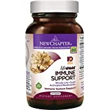 New Chapter Reishi Mushroom - LifeShield Immune Support with Organic Reishi Mushroom Vegan + Non-GMO Ingredients - 120 ct