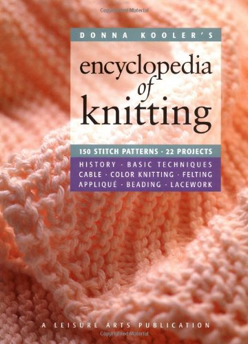 d83b3638ff64e Donna Kooler s Encyclopedia of Knitting (Leisure Arts  15914)  Donna Kooler