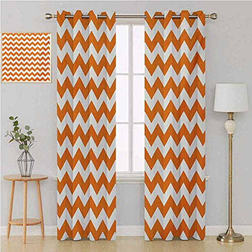 Chevron grommit Curtain Curtains for Bedroom/Living Room Curtain,Halloween