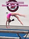 Gymnastics Balance Beam Practice