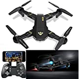 RC Quadcopter Gravity Sensor Drone, XS809HW Wifi FPV 2.0MP 720P HD Camera 2.4G Selfie Drone RC Quadcopter Toys with barometer height and Headless Mode